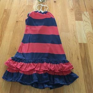 Vintage Rugby halter dress